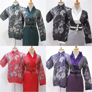 BSG 230 ALL COLOUR,,SARIMBIT GAMIS KOMBI SATIN DAN SIFON,,KERAH MODEL KIMONO,,UK ALL SIZE,,LD-P ; 100-132,,HEM UK M,L,XL